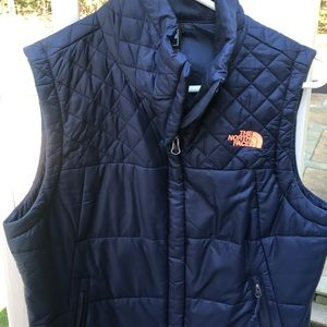The North Face Navy Vest Classic fit never worn